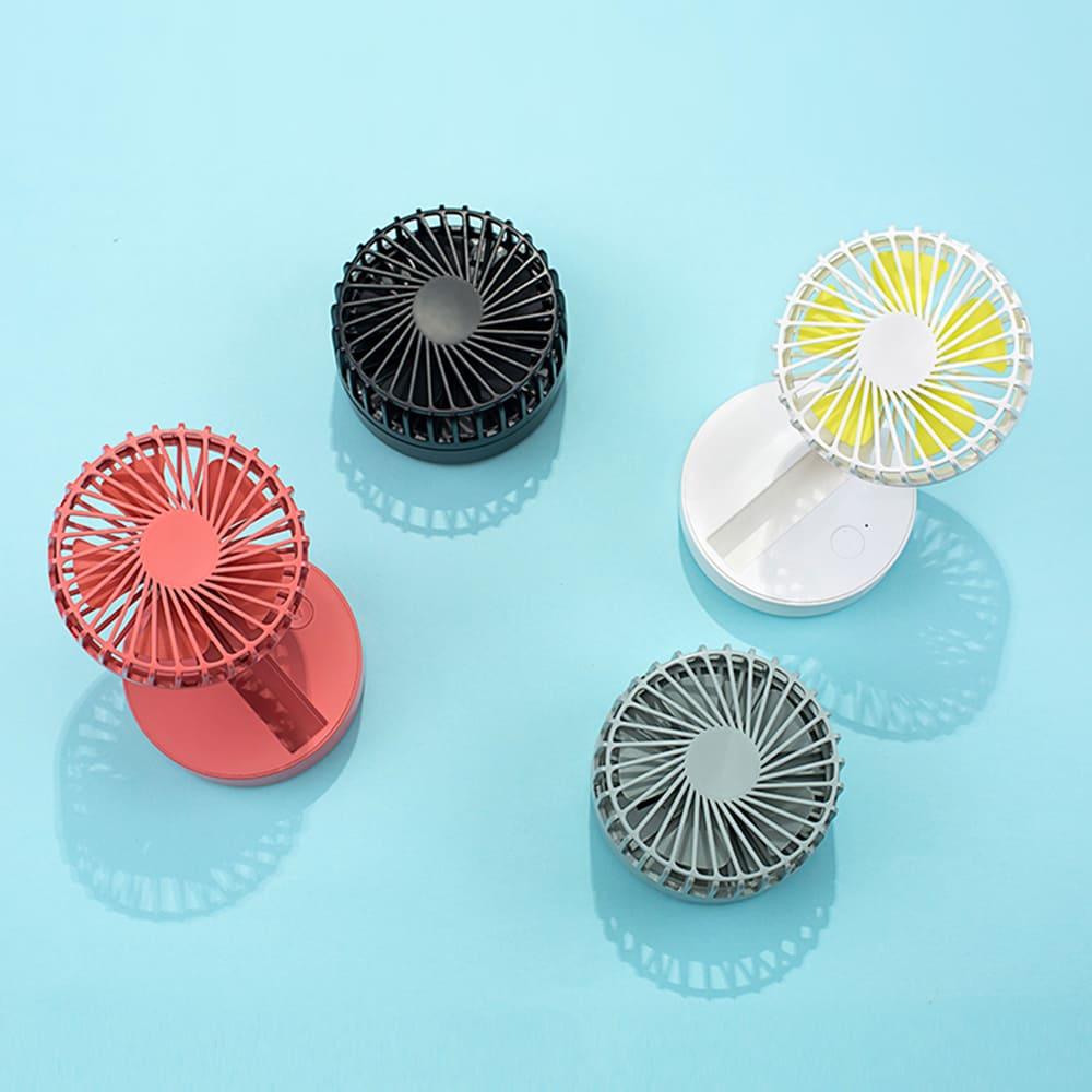 HLL|隨身折疊迷你大風量風扇(3色可選)