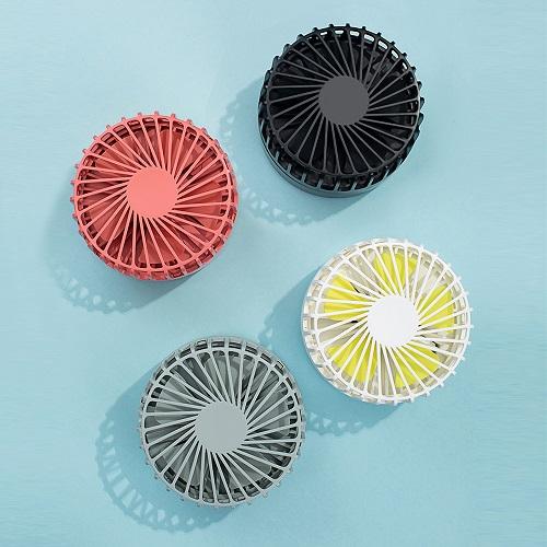 HLL|隨身折疊迷你大風量風扇2入組-(3色可選)