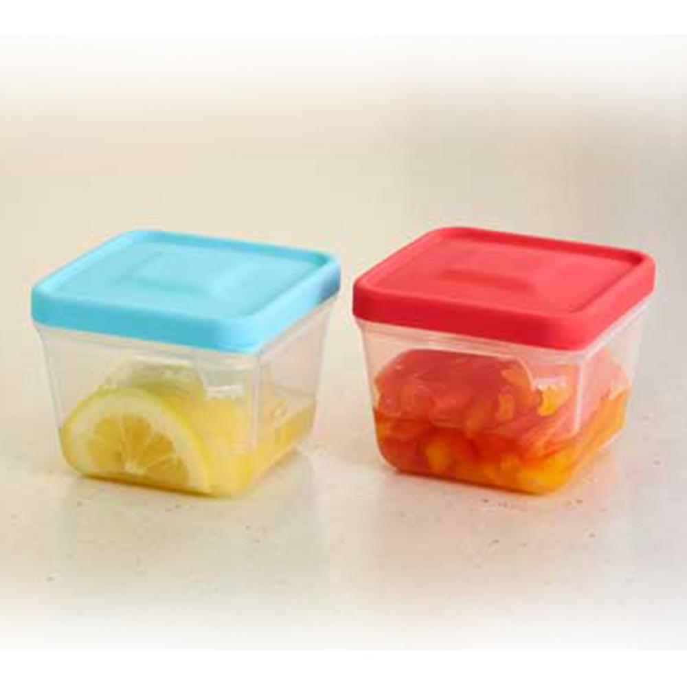 SMILE KIDS|神奇帶夾食物保鮮盒(日本製)-2入