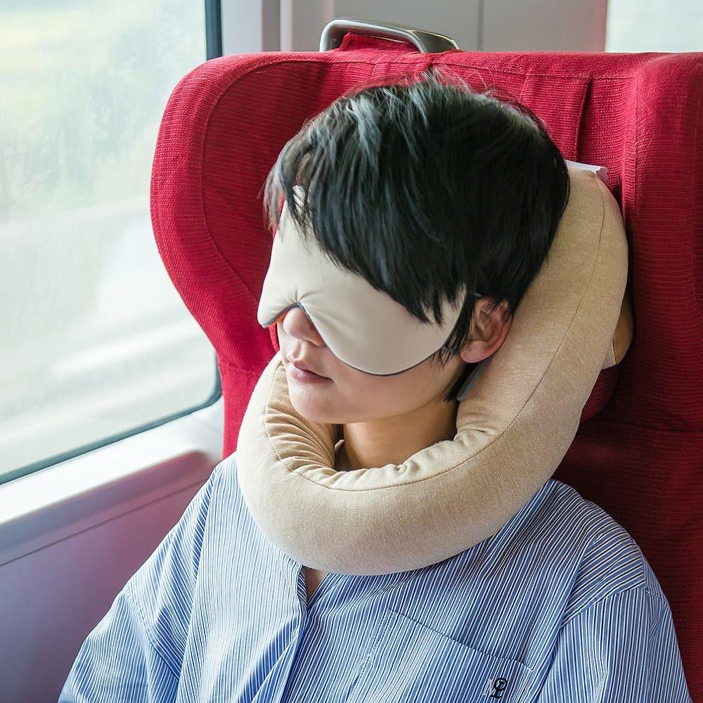 Kiwee|LOLLIPOP 天然乳膠可調式頸枕 (燕麥黃)