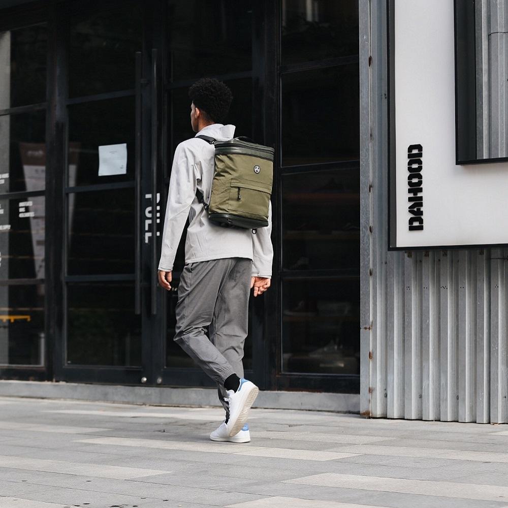 【集購】Kiwee SANDWICH 機能防盜摺疊雙肩包 (三色任選)