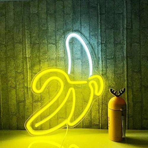 Light in Plan O|造型背板霓虹燈 - 香蕉