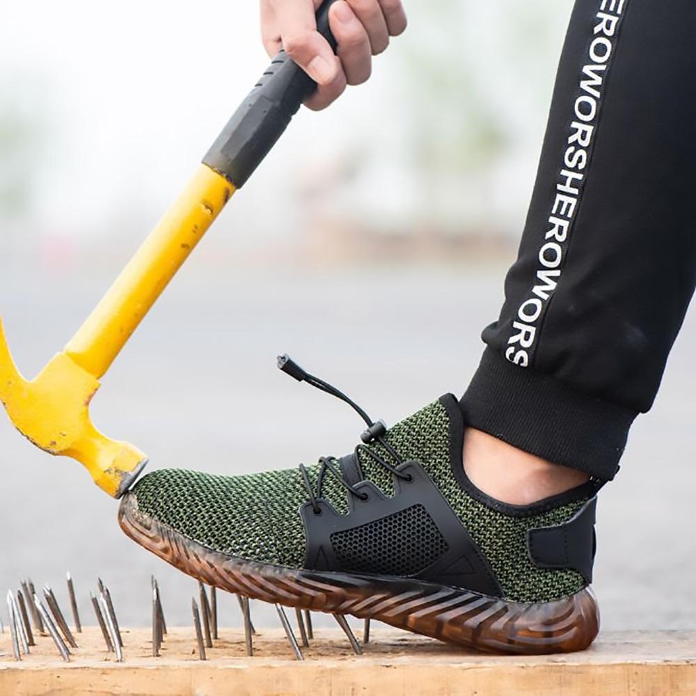 【集購】Indestructible 超防護輕量戶外安全防護運動鞋 (2色任選)