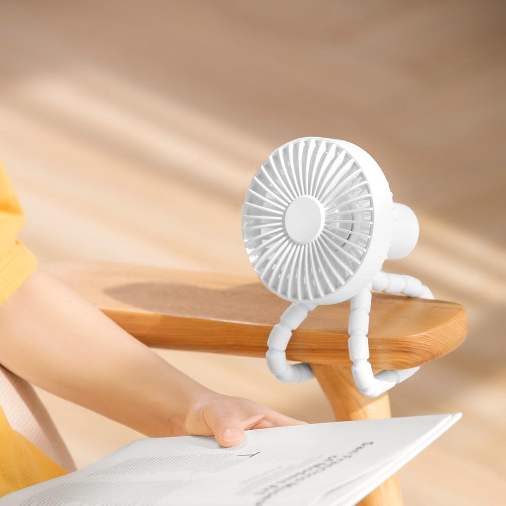 HLL|八爪百變多用途手持風扇 2入組 (4色任選)