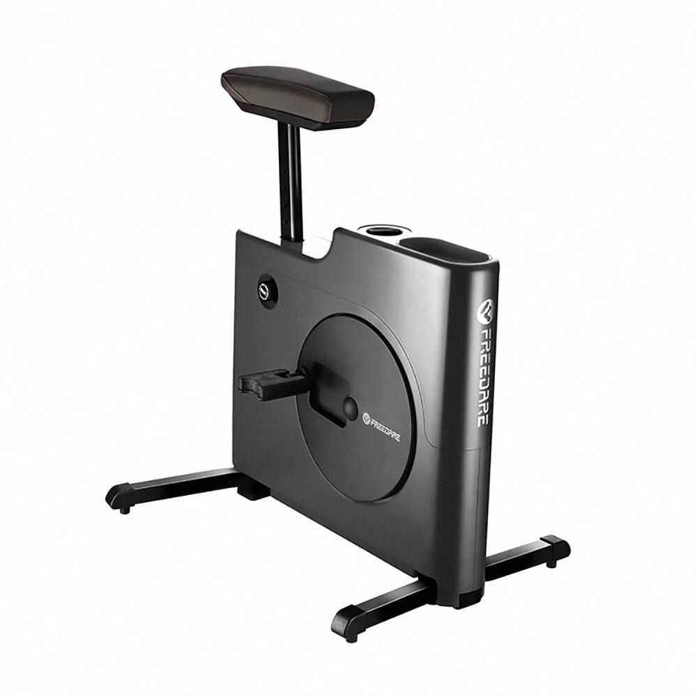 Freedare|極靜音超薄型健身單車-經典黑