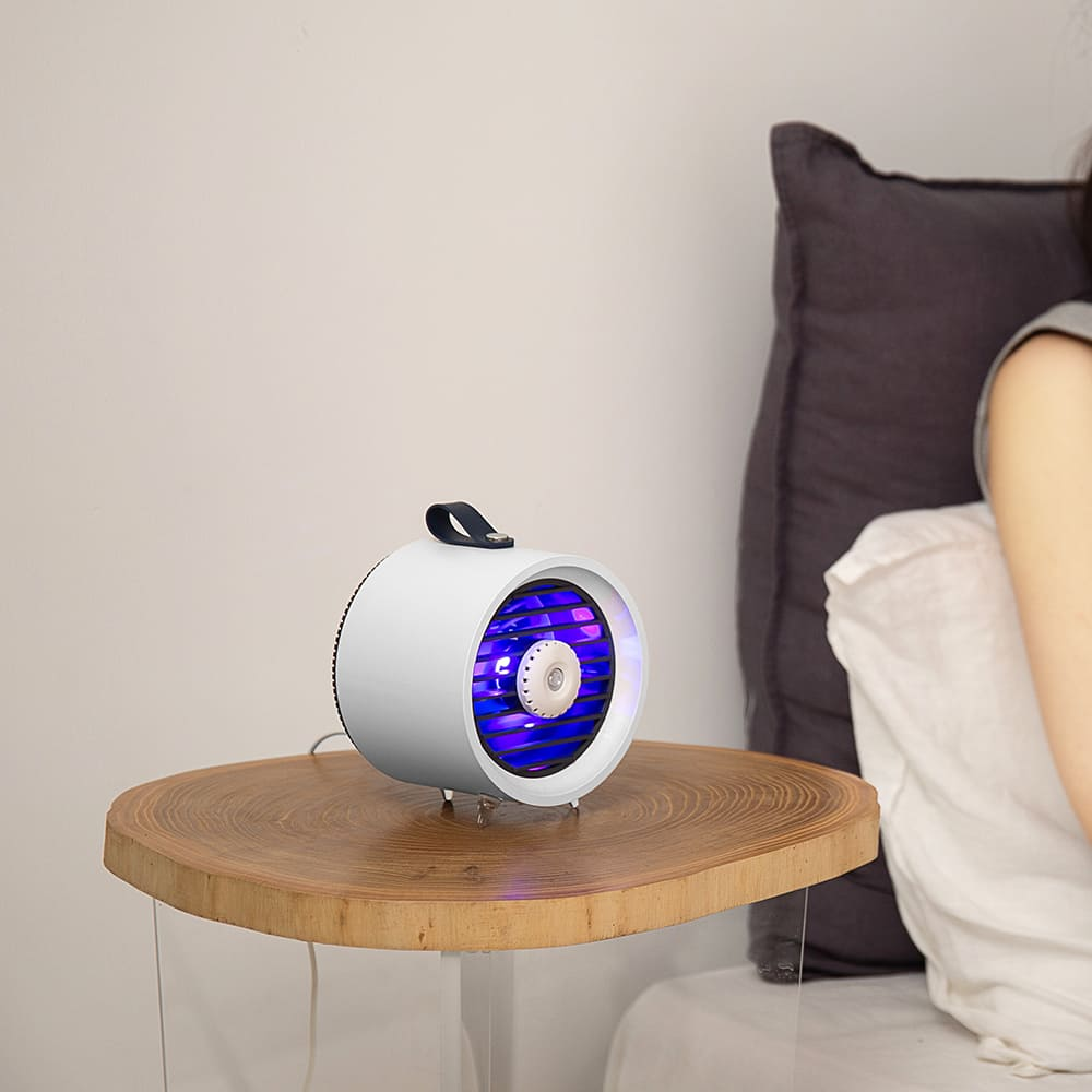 HLL|輕巧物理型補蚊燈 (經典白)