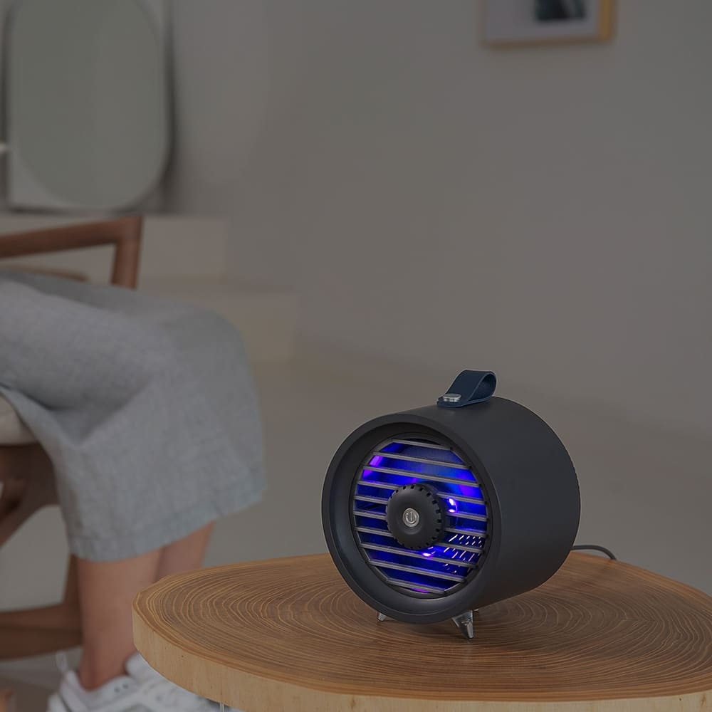 HLL 輕巧物理型補蚊燈 (質感黑)