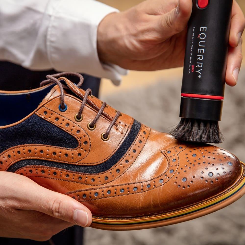 EQUERRY Pro 義大利製高級皮革鞋油 (深棕色)