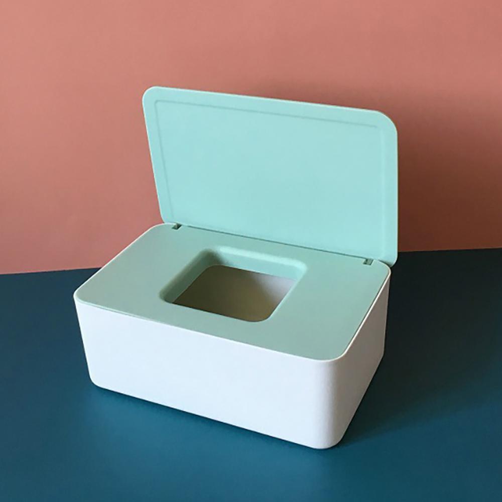 LuvHome 時尚撞色抽取式口罩收納盒 - 2入組