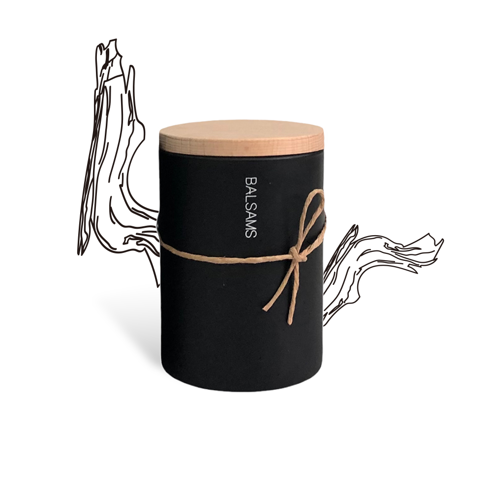 BALSAMS|白森氏香氛工藝蠟燭200g-東方烏木