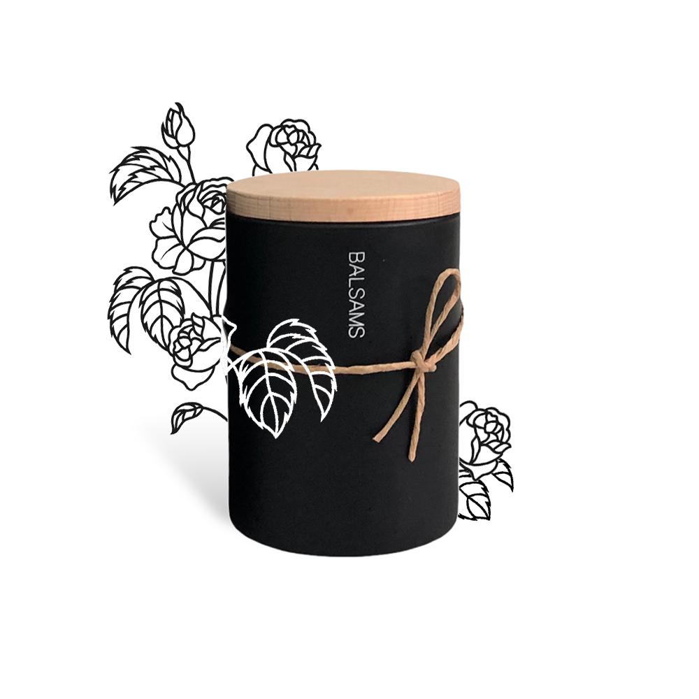 BALSAMS|白森氏香氛工藝蠟燭200g-絲絨玫瑰