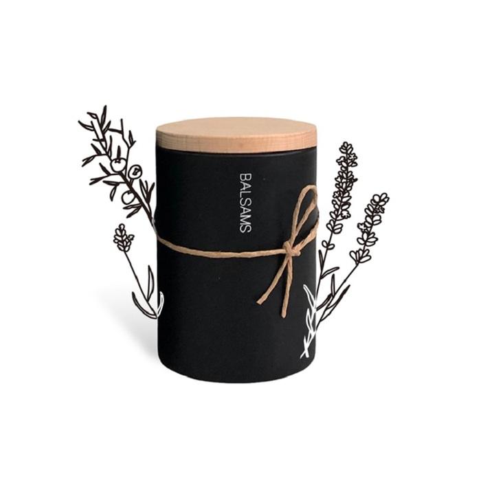 (複製)BALSAMS|白森氏香氛工藝蠟燭200g-黑雪松琥珀