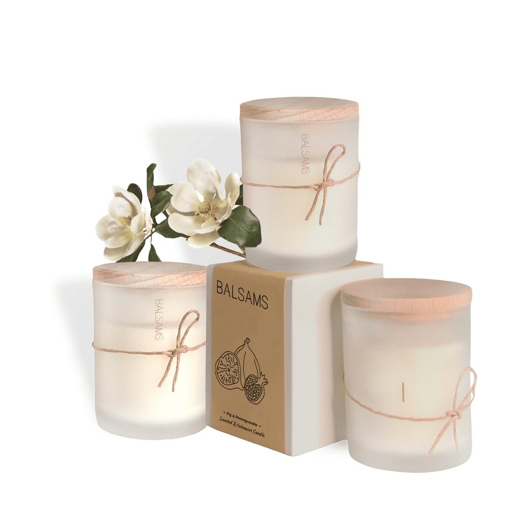 BALSAMS|白森氏香氛工藝蠟燭200g-小蒼蘭茉莉