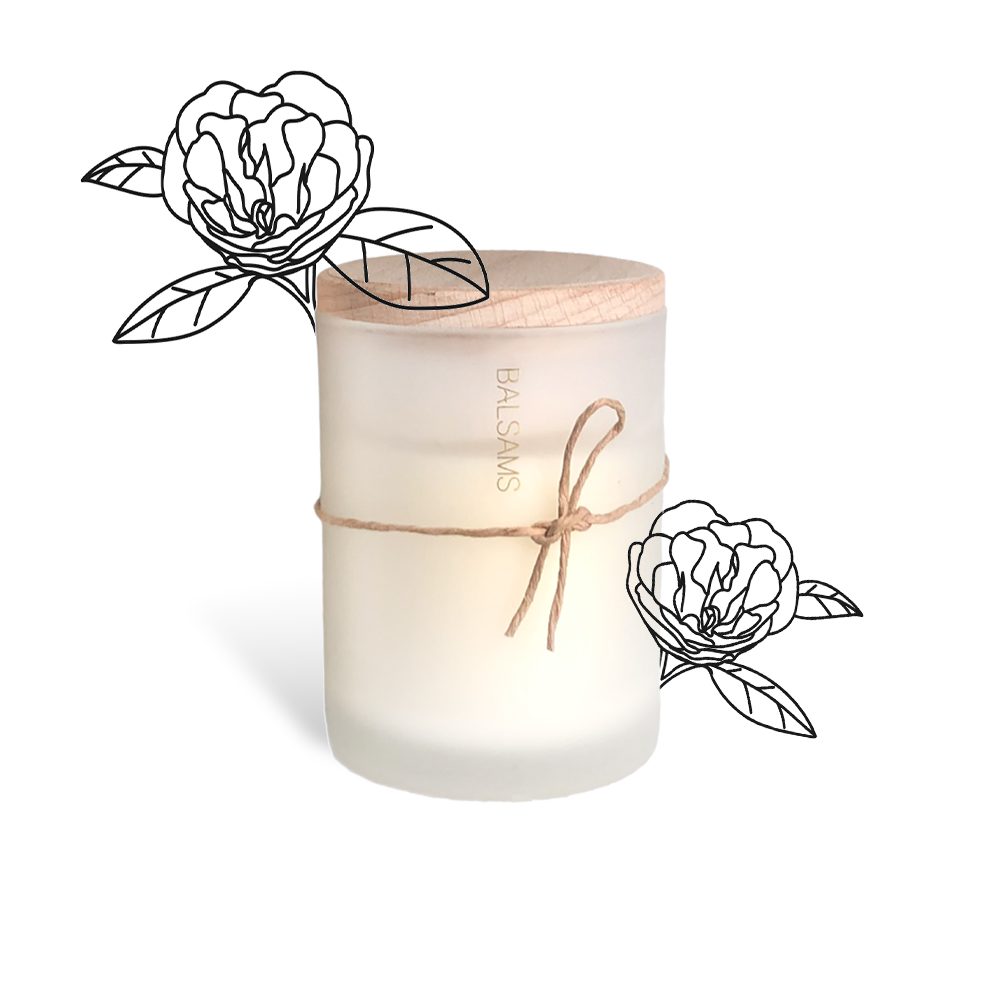 BALSAMS|白森氏香氛工藝蠟燭200g-山茶花