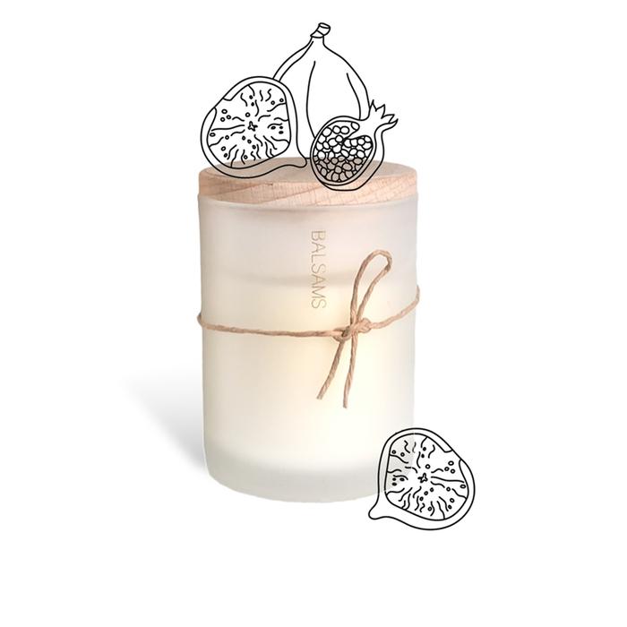 BALSAMS|白森氏香氛工藝蠟燭200g-無花果石榴