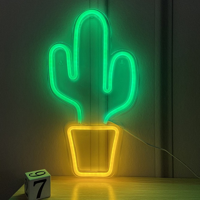 Light in Plan O|造型背板霓虹燈 - 仙人掌