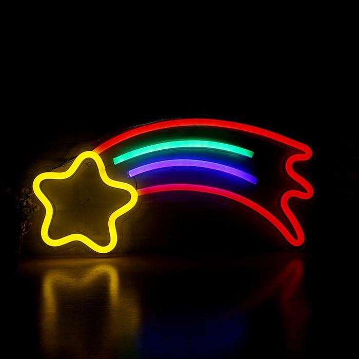 Light in Plan O|造型背板霓虹燈 - 流星