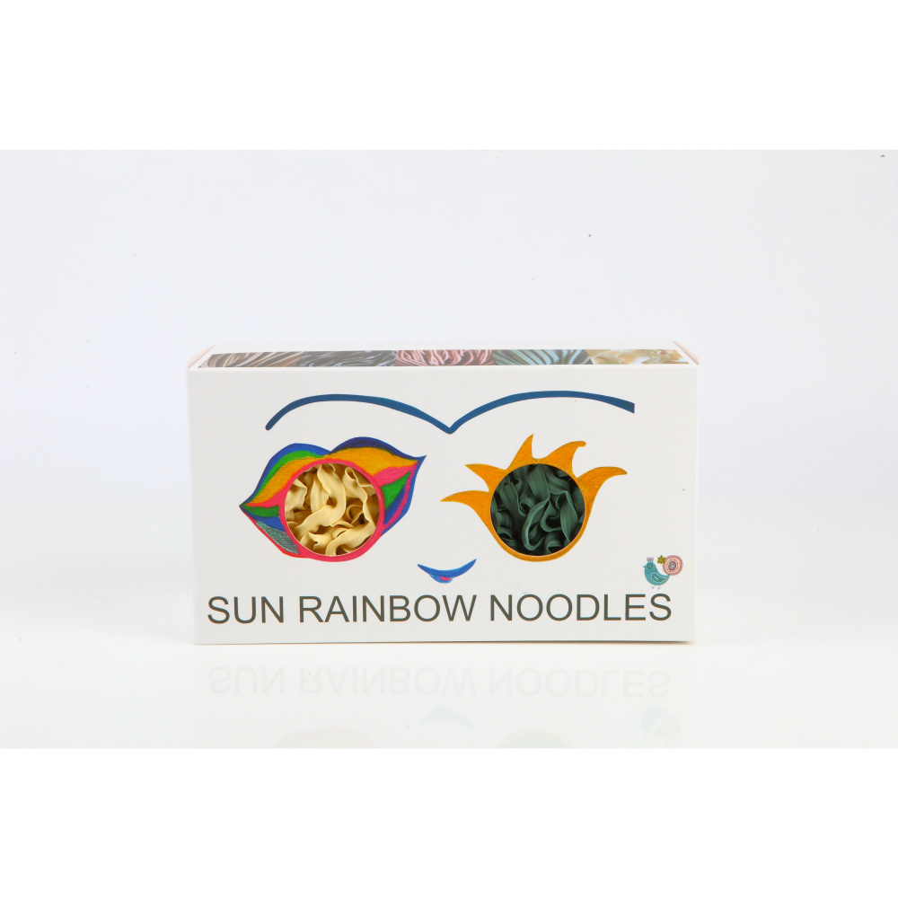 陽光彩虹|陽光彩虹麵 Sun Rainbow Noodle(六片裝禮盒x6)