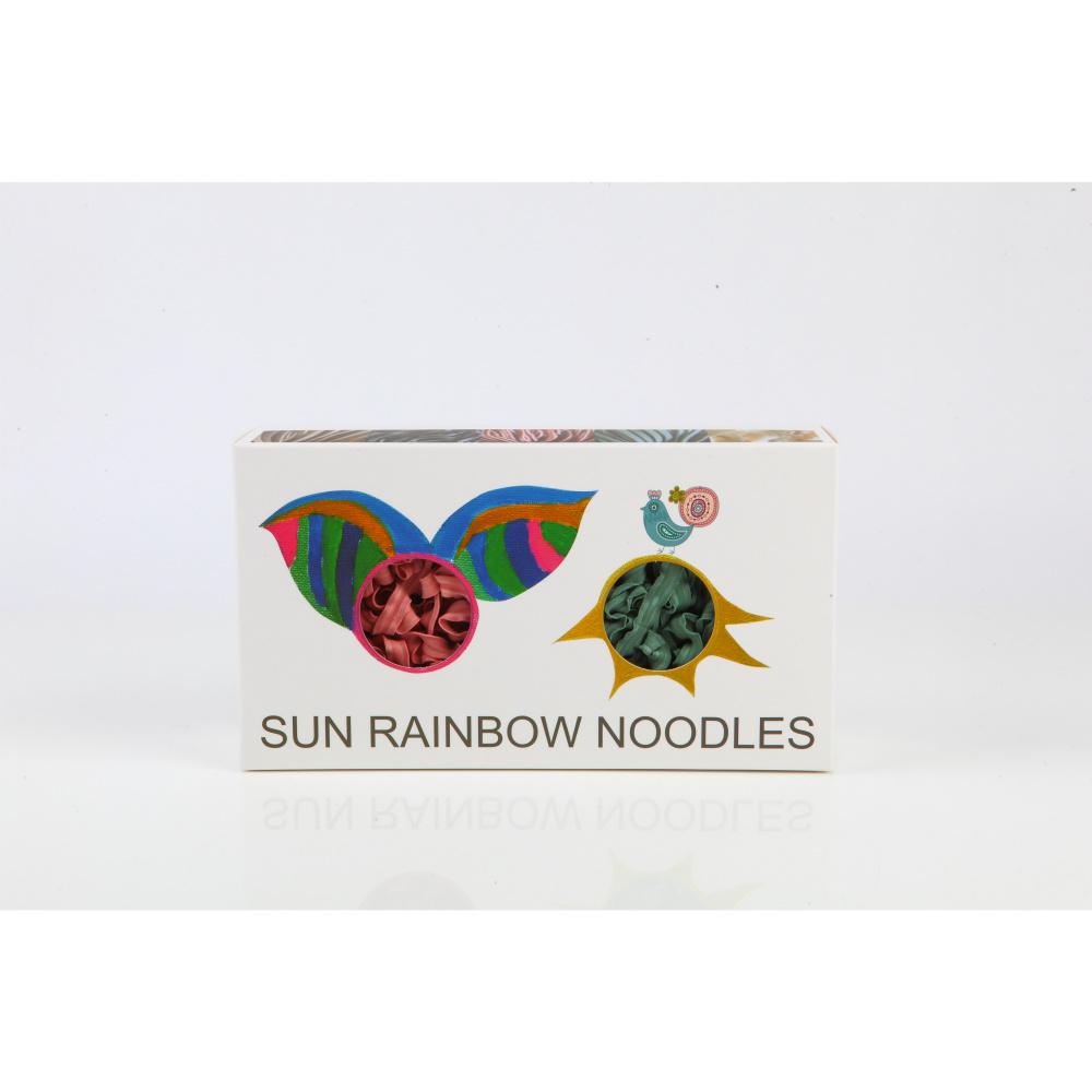 陽光彩虹 陽光彩虹麵 Sun Rainbow Noodle(四片裝禮盒x2)