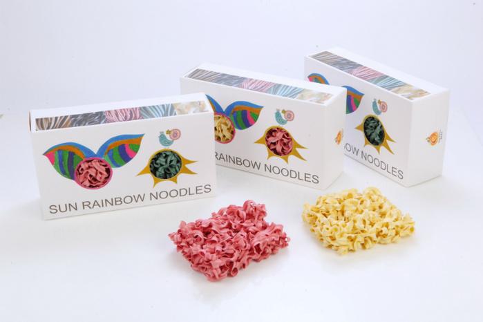 陽光彩虹|陽光彩虹麵 Sun Rainbow Noodle(四片裝禮盒x3)