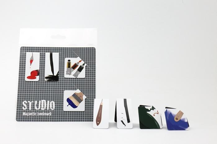 3+ Magi Mags|磁鐵書籤 - 文具系列【設計癮】 (原色)