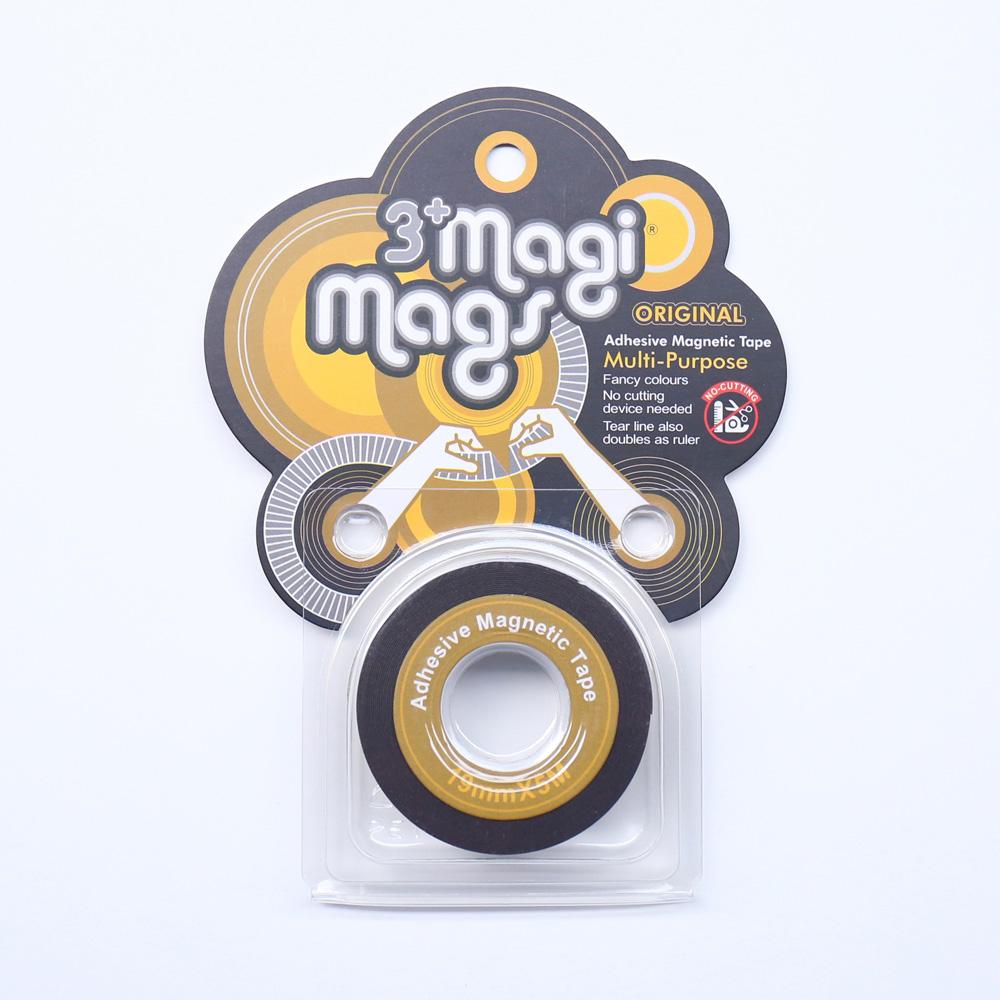 3+ Magi Mags|19 x 5 磁鐵膠帶 (經典金)