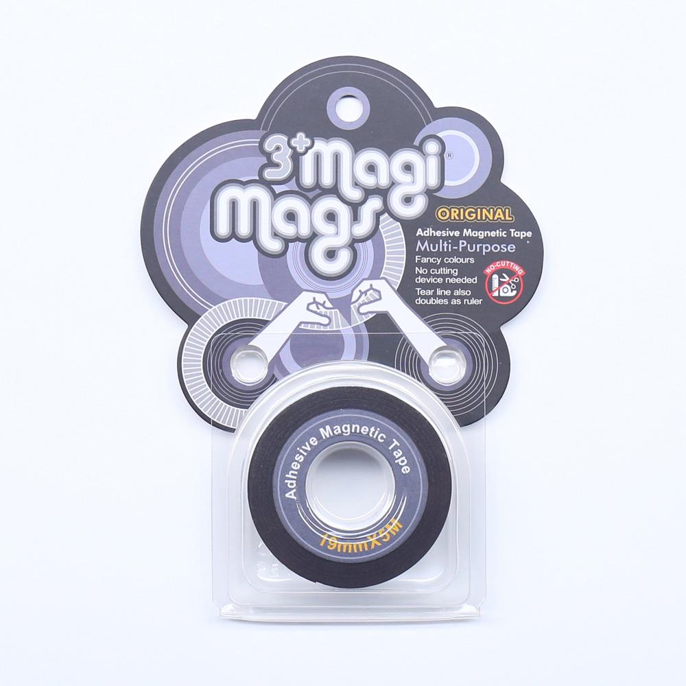 3+ Magi Mags 19 x 5 磁鐵膠帶 (經典銀)