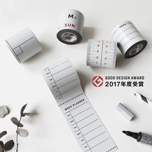 3+ Magi Mags|TIEBU_鐵的膠帶-月曆系列 (週計劃)