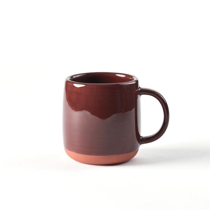 紅陶釉燒馬克杯(刷釉棕)