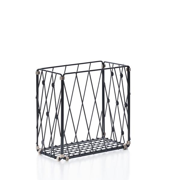 (複製)TZULAï|自由組鐵線收納籃_圓點窗花_方型