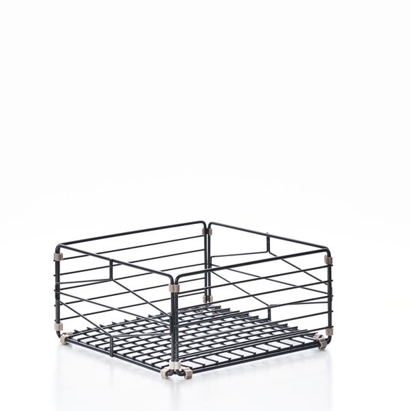 (複製)TZULAï|自由組鐵線收納籃_菱格窗花_直型