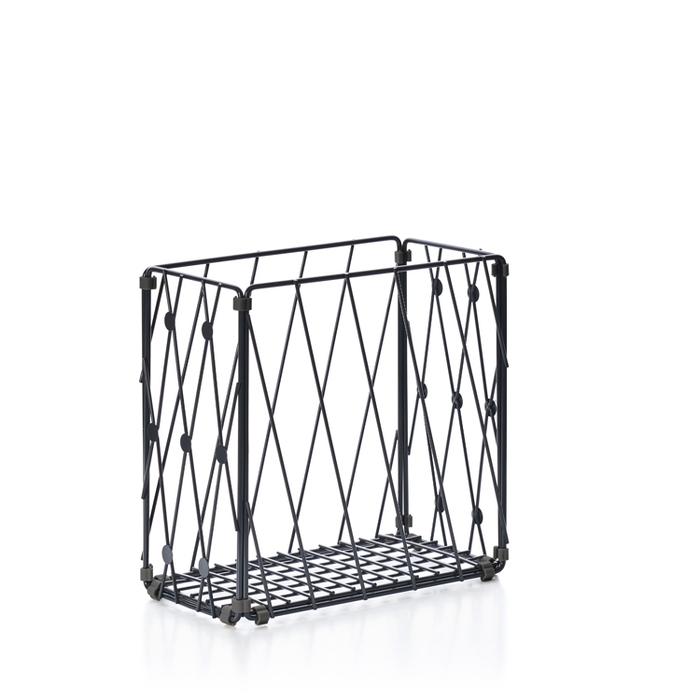 TZULAï|自由組鐵線收納籃_圓點窗花_直型
