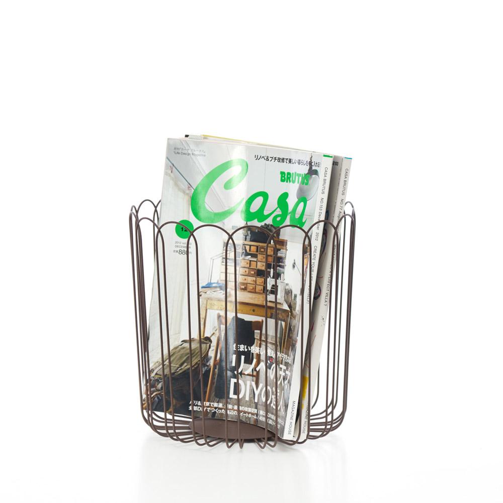 TZULAï|花瓣鐵線籃L號(咖啡)