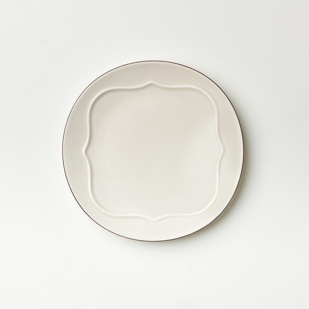 TZULAï|老磁磚系列_9吋磚型凸紋圓盤