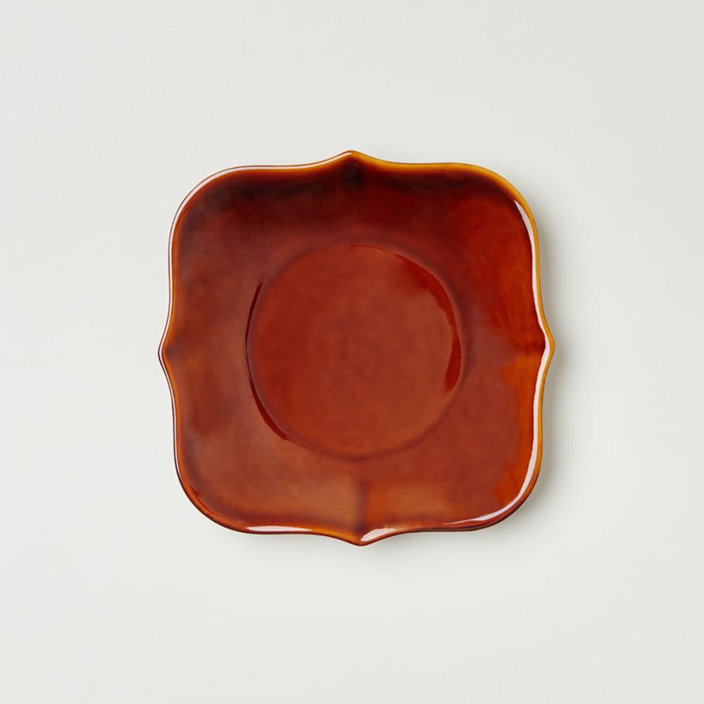 TZULAï|老磁磚系列_6吋磚型點心盤