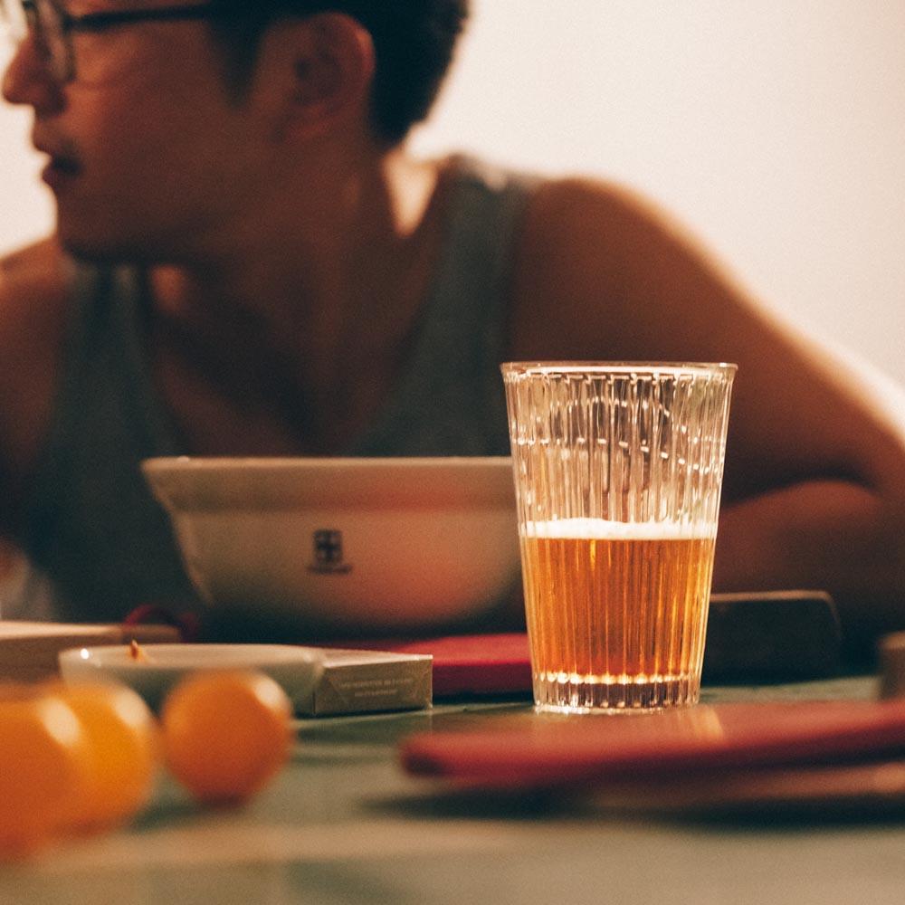 TZULAï|條紋啤酒杯