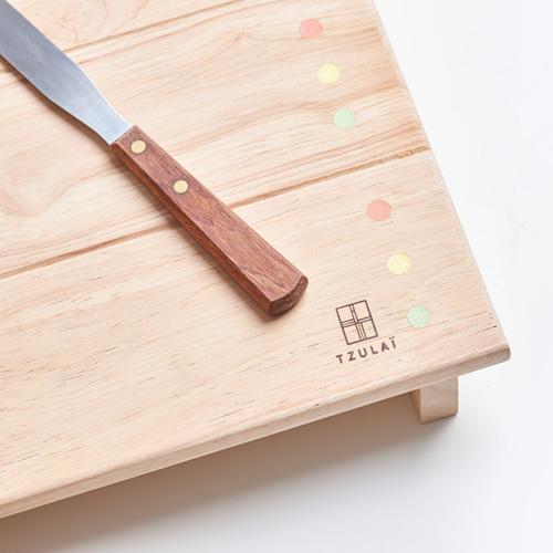 TZULAï 木製托盤_豆腐盤(春色)