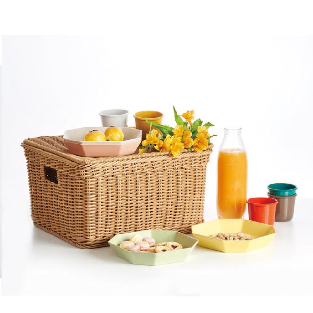 TZULAï|手工編織PP野餐籃
