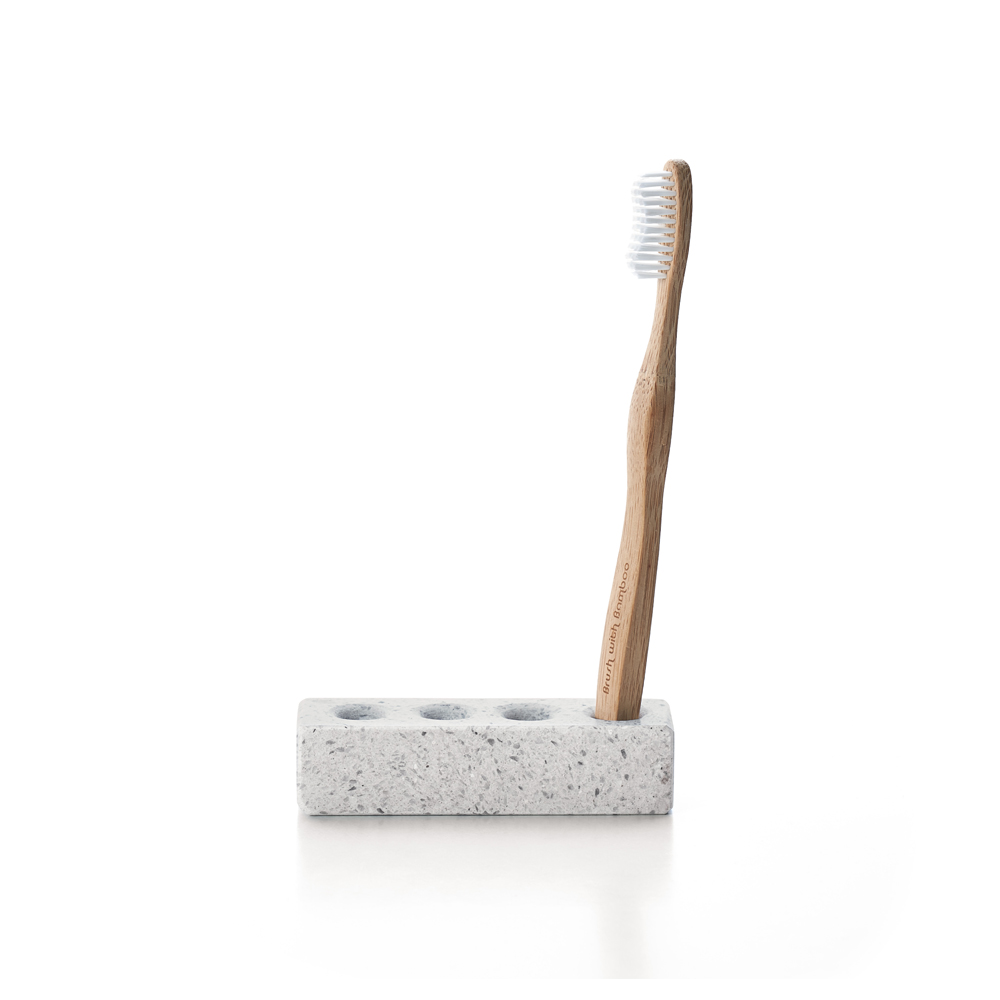 TZULAï 天然磨石衛浴盥洗組_牙刷架