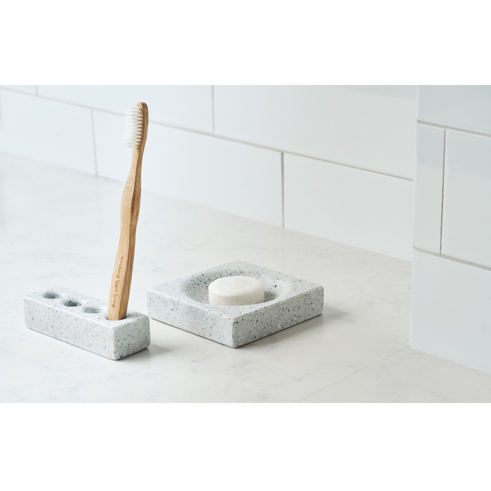 TZULAï|天然磨石衛浴盥洗組_牙刷架