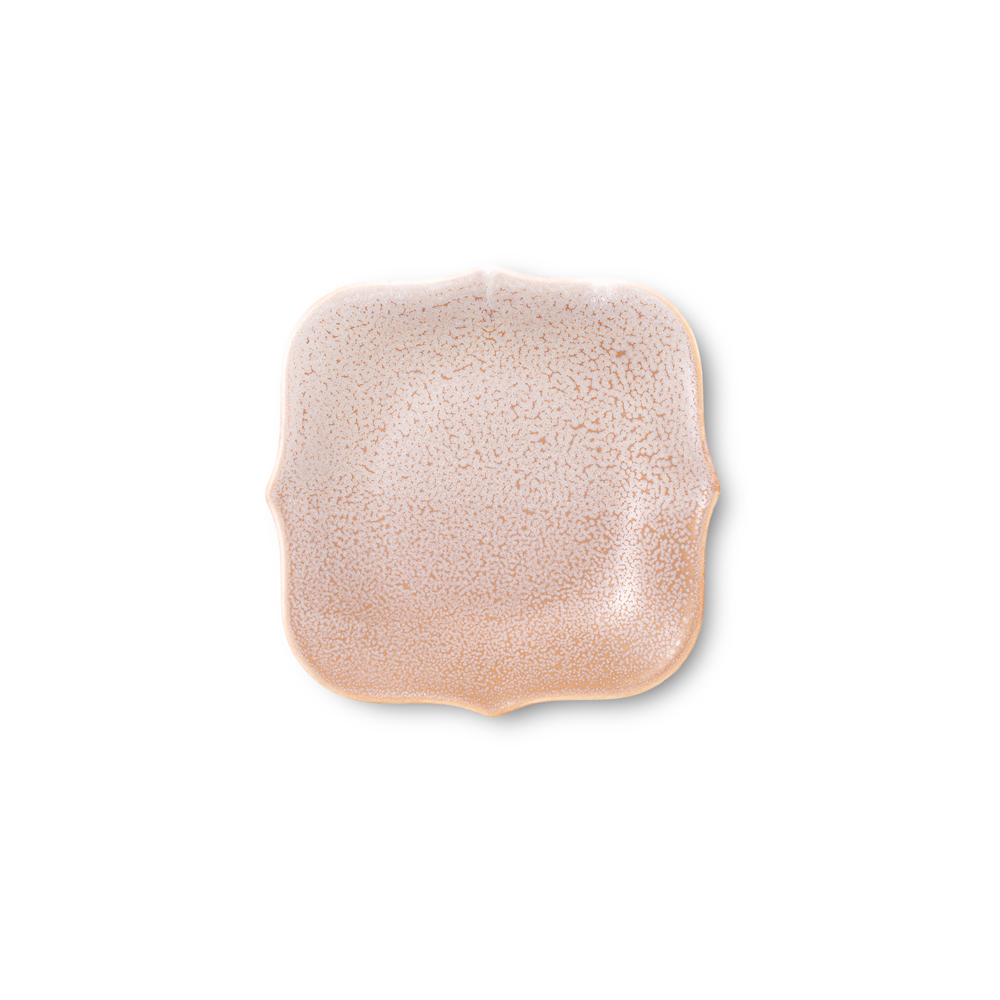 TZULAï 老磁磚系列_磚型盤6吋_春泥茶