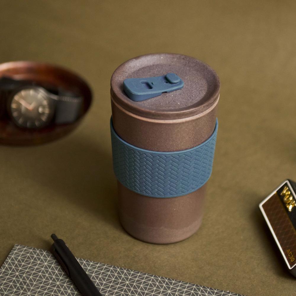 TZULAï|Coffee-Cycle咖啡環保隨行杯400ml(墨夜藍)