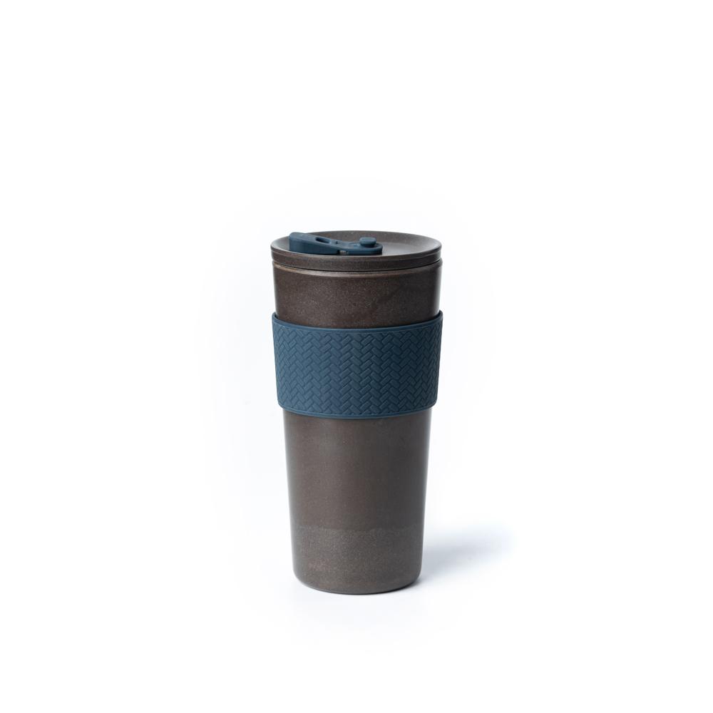 TZULAï Coffee-Cycle 咖啡環保隨行杯500ml(墨夜藍)