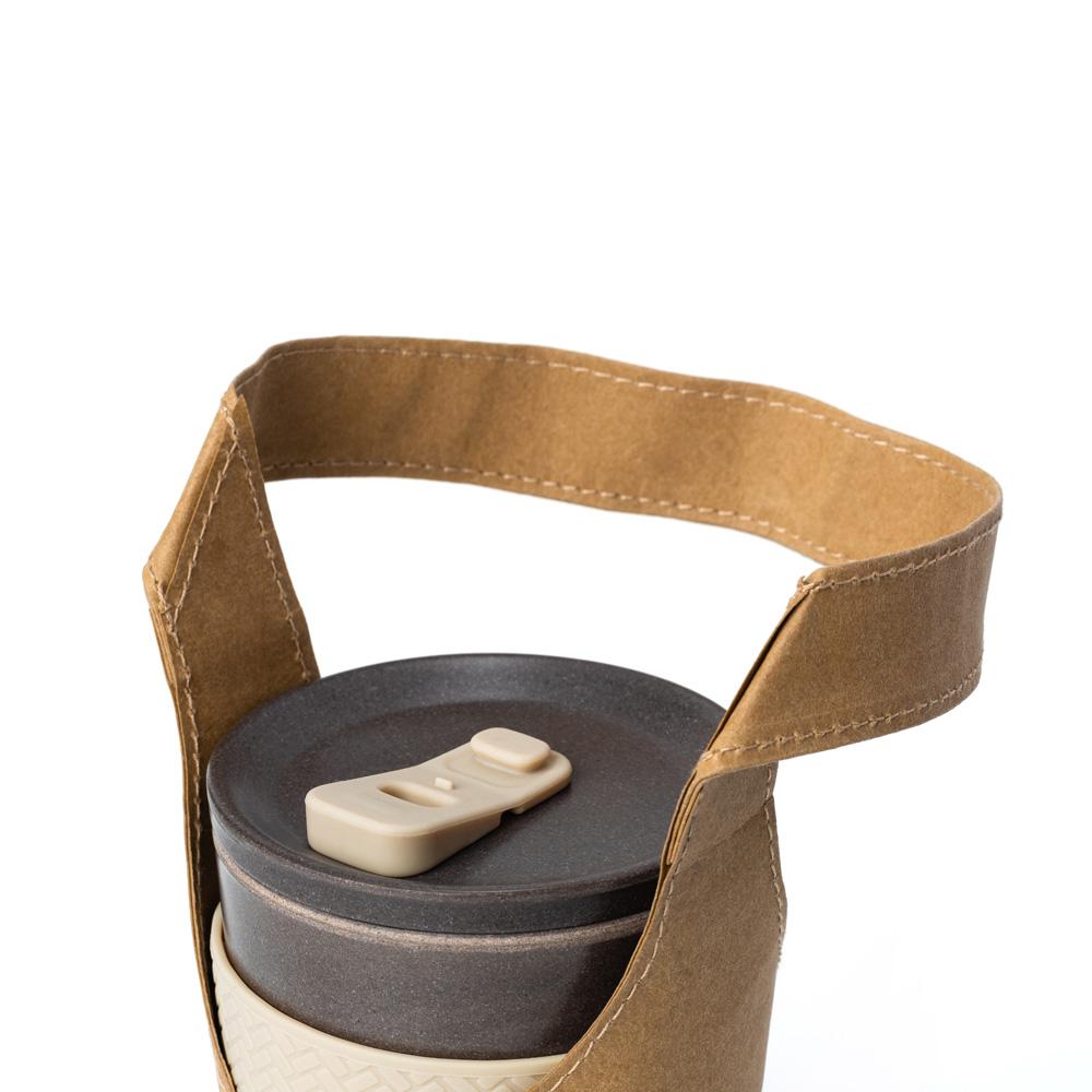 TZULAï|水洗牛皮紙飲料袋(淺焙棕)