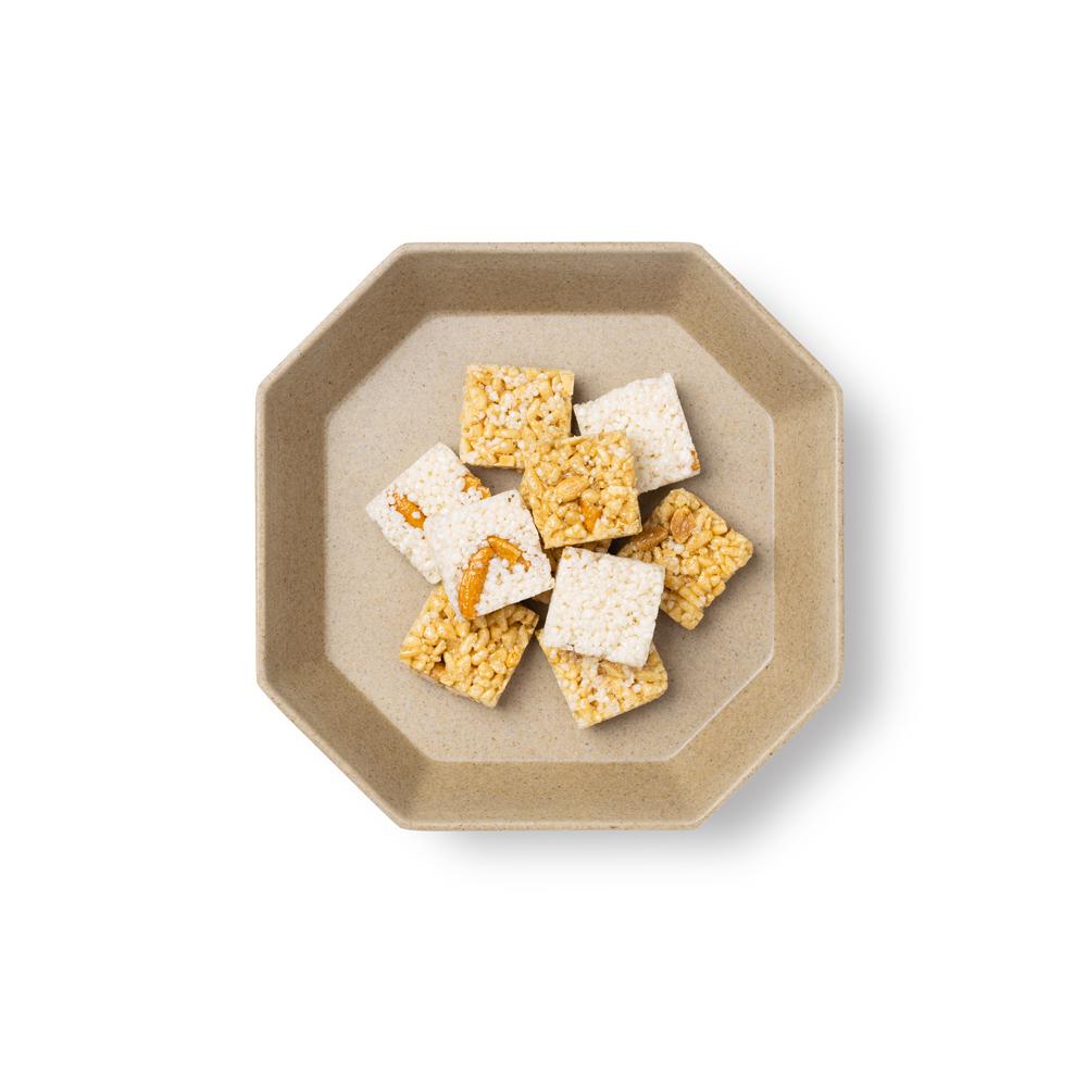 TZULAï|竹纖維八角盤(稻殼)