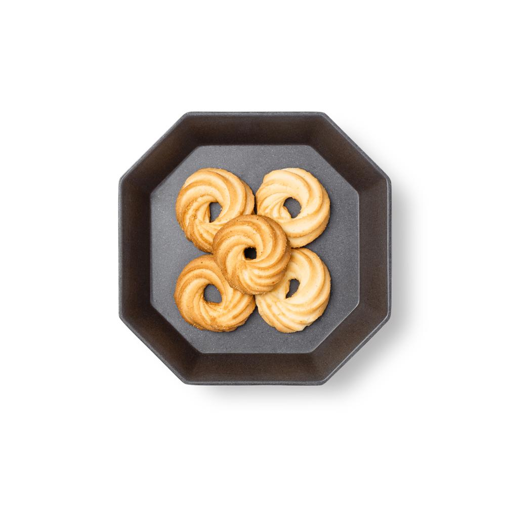TZULAï|竹纖維八角盤(咖啡)