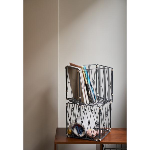 (複製)TZULAï|自由組鐵線收納籃_圈型窗花_方型