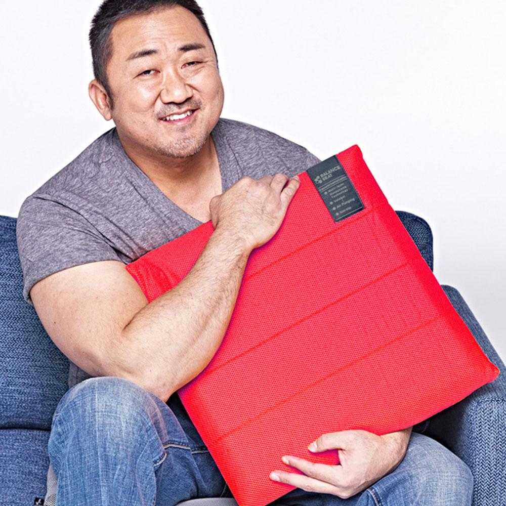 【集購】Bullsone-勁牛王│凝膠健康坐墊-紅色(M號)