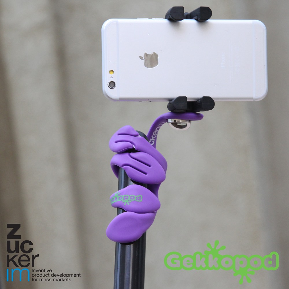 ZBAM│Gekkopod|二代壁虎爬手機架 / 相機架 / Gopro架(3色)-2入組
