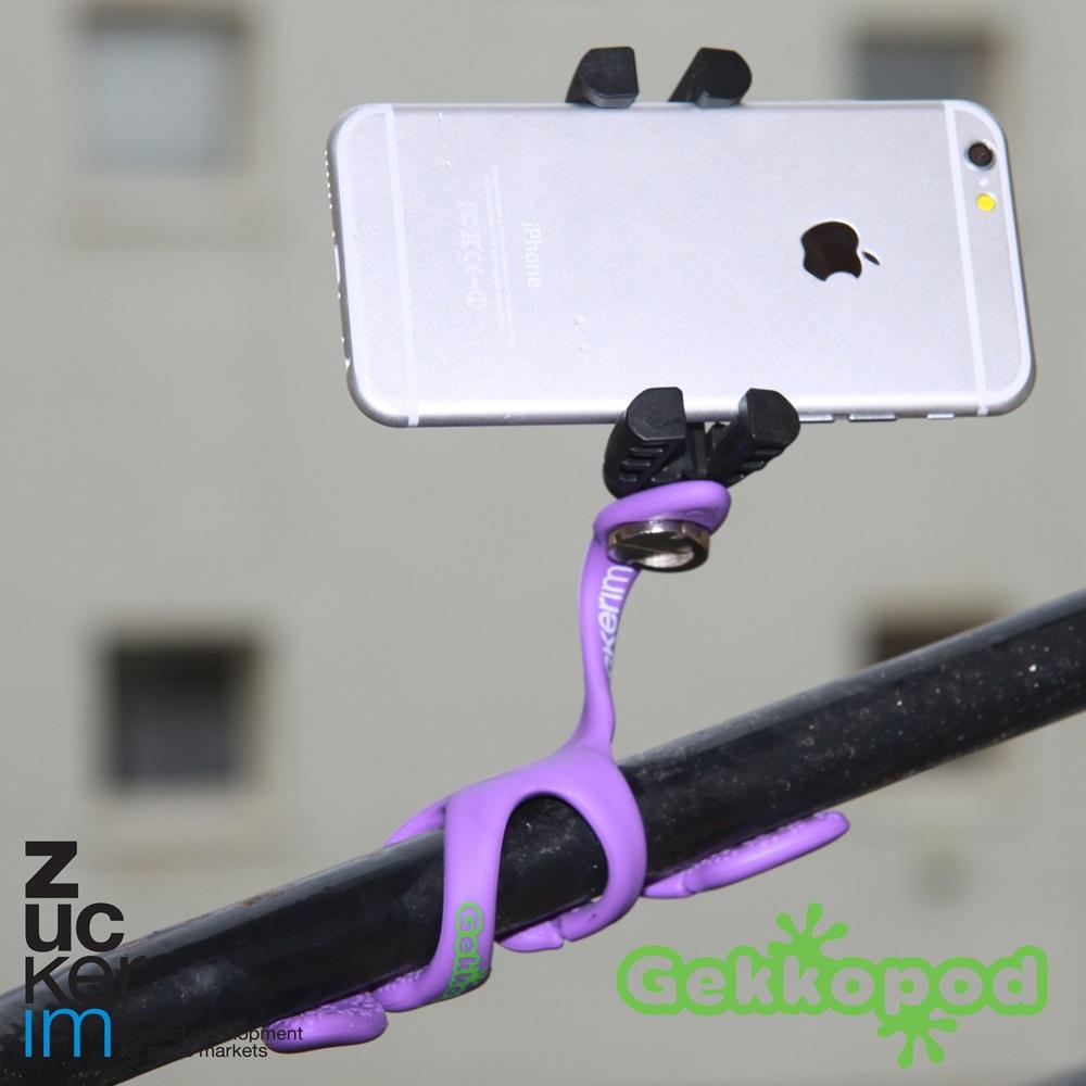 ZBAM│Gekkopod 二代壁虎爬手機架 / 相機架 / Gopro架(3色)-3入組